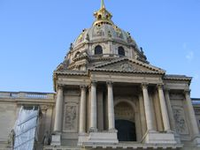 Free Dome Des Invalides Stock Images - 4715114