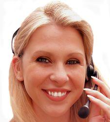 Free Telephonist Royalty Free Stock Image - 4715346