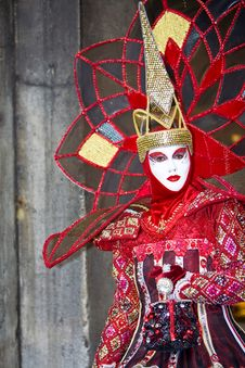 Free Venice Carnival Costume Stock Photos - 4715363