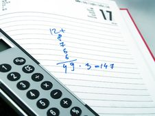 Free Calculation And Calculator Stock Images - 4715784