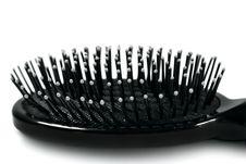 Free Black Hairbrush Royalty Free Stock Photos - 4715968