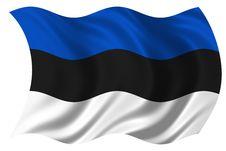 Free Estonia Flag Isolated Royalty Free Stock Image - 4716896