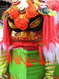 Free Chinese Lion Dancer Stock Photos - 4717103
