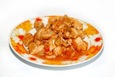 Free Meat In Sauce Royalty Free Stock Photos - 4719328