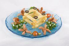 Free Funny Potato Chips Royalty Free Stock Photography - 4719407