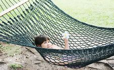 Free Girl In Hammock Stock Images - 4719924