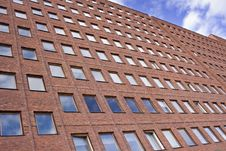 Free Front Of A Brick Building And A Nice Blue Sky Royalty Free Stock Photos - 4719948