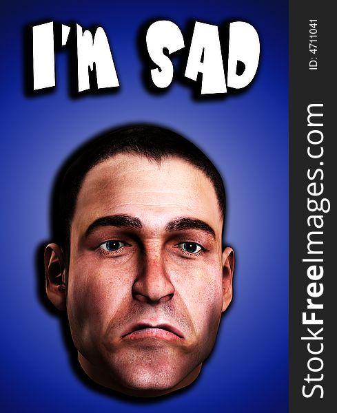 Very Sad Man Word 12