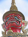 Free Palace Guard In Bangkok Stock Photo - 4721530