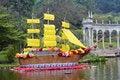 Free Flower Boat Stock Photo - 4727870