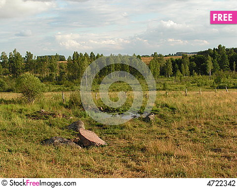 Free Landscape In Northern Poland Stock Photography - 4722342