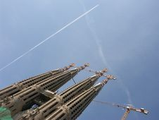 Free Cathedral Sagrada Famiglia Royalty Free Stock Images - 4720119