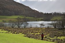 Free Loughrigg Tarn Royalty Free Stock Photography - 4720877