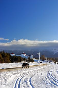 Free Bretton Woods, New Hampshire Stock Image - 4721121