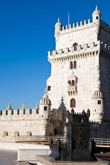 Free Tower Of Belem Royalty Free Stock Image - 4721826