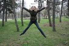 Free Girl Jump Stock Photos - 4722243