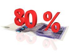 80  Percentage Stock Photos