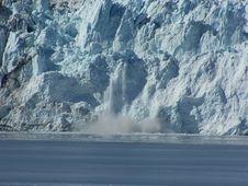 Glacier Calving Stock Image