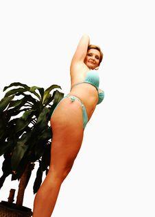Free Young Woman In Bikini. Royalty Free Stock Photo - 4722945