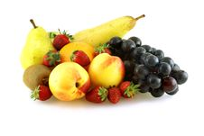 Various Of Fresh Ripe Juicy Fruites Royalty Free Stock Photo