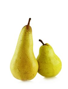 Free Two Ripe Spotted Pears Royalty Free Stock Photography - 4723127