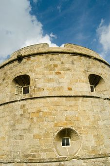 Free The Round Castle Stock Photography - 4723162