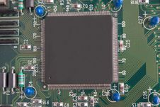 Free Microprocessor Royalty Free Stock Photo - 4723925