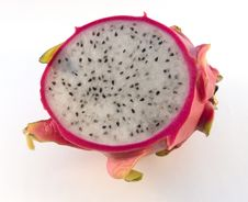Free Half Dragon Fruit (pitaya) Stock Images - 4723934