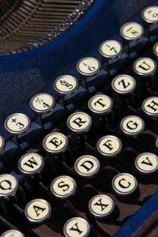 Free Typewriter Stock Photography - 4724672