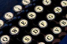 Free Typewriter Stock Images - 4724674