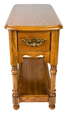 Free Oak Chair Side End Table Royalty Free Stock Image - 4724936