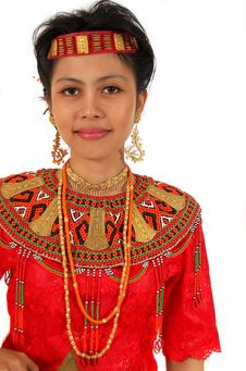 Free Traditional Dress From Toraja Royalty Free Stock Photo - 4725315