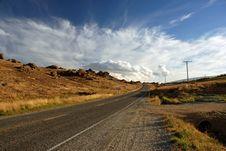 Free Scenic Remote Road Stock Image - 4725471