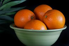 Free A Bowl Of Wholesome Oranges Royalty Free Stock Photography - 4726187