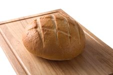 Sour Dough Bread Isolated Royalty Free Stock Photography