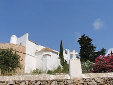 Ibiza Church Stock Images