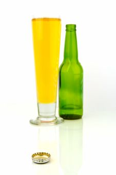 Free Beer Bottles Royalty Free Stock Photography - 4726997