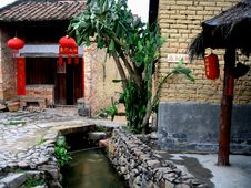 Free Chinese Village Royalty Free Stock Photos - 4727568