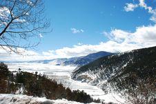 Shangri-La Winter Royalty Free Stock Photo