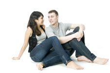 Free Young Couple Together Royalty Free Stock Image - 4727606