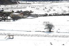 Shangri-La Winter Stock Images