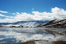 Free Shangri-La Winter Stock Photography - 4727702