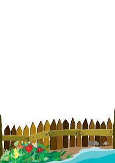 Free Fence Backround Royalty Free Stock Image - 4727856