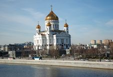 Free Temple Of Christ Our Saviour In Moscow Stock Images - 4727874