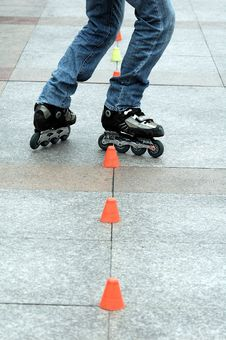Free Roller Skating Royalty Free Stock Images - 4727949