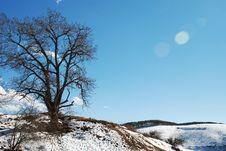 Shangri-La Winter Royalty Free Stock Photography