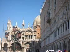 Free San Marco And Palazzo Ducale Royalty Free Stock Image - 4728236