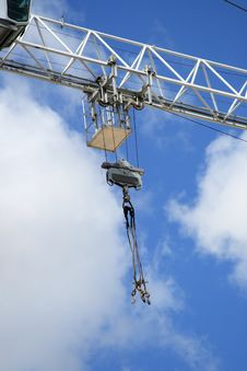 Free Hook Of The Building Crane Stock Images - 4728374