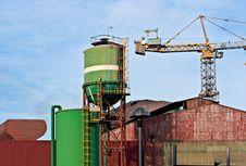 Free Power Plant In Piombino , Italy. Stock Photos - 4728513