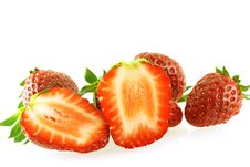 Close Up Shot Of Strawberry Stock Images